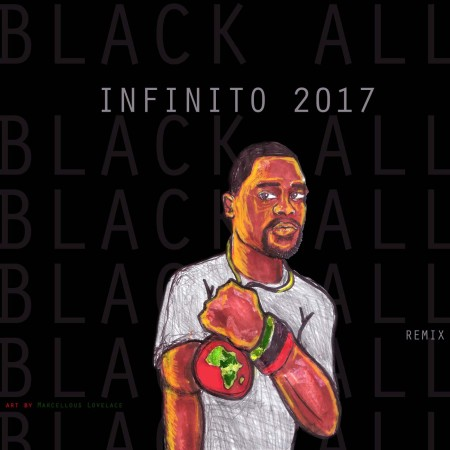 Infinito 2017 - black all remix cover_sampler